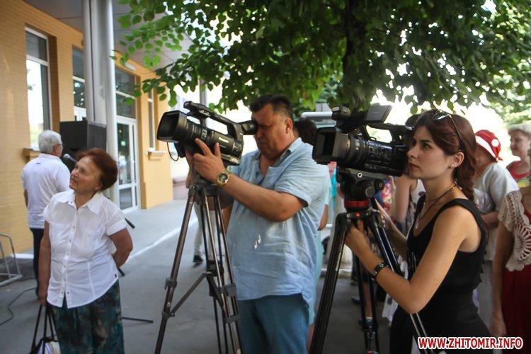 djOsa 20 - Як у Житомирі відкривали дошку Першому Незалежному українському театру