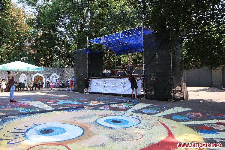 nqnwne 10 - Перший день фестивалю «Пісенний Спас» у житомирському парку культури. Фоторепортаж