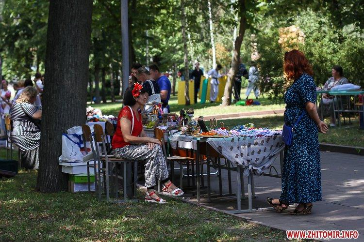 nqnwne 38 - Перший день фестивалю «Пісенний Спас» у житомирському парку культури. Фоторепортаж
