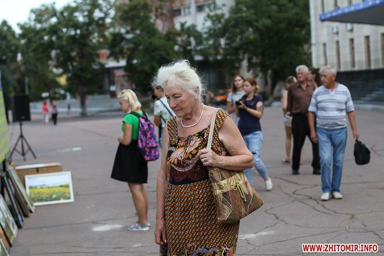 kniga miry 10 - На майдан Корольова у Житомирі привезли Картину Миру, яку малювали 10 тисяч українців