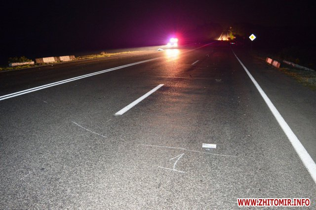masina avaria 0001 - На Вінниччині Mercedes насмерть збив пішохода з Бердичева