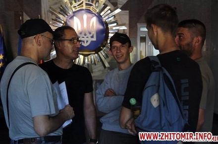 2017 08 18sudMur 03 w440 h290 - Судове засідання у справі блогера Муравицького з Житомира, якого підозрюють у державній зраді, знову не відбулося