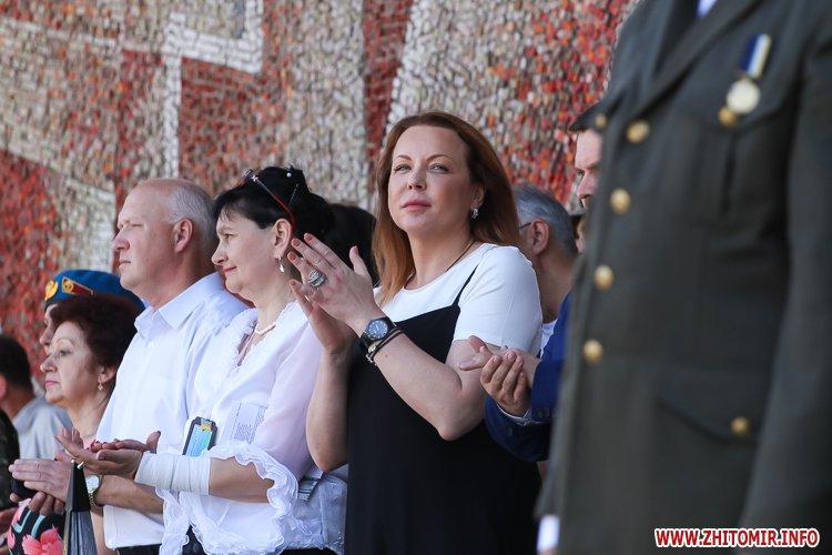vDvDv 14 - Житомиряни в тільняшках відзначили День ВДВ у центрі міста