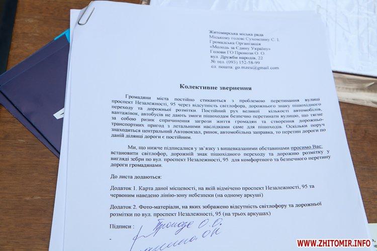 divAn 27 - На Михайлівській житомирянам пропонують посидіти на «Дивані незалежАності» і підписати звернення