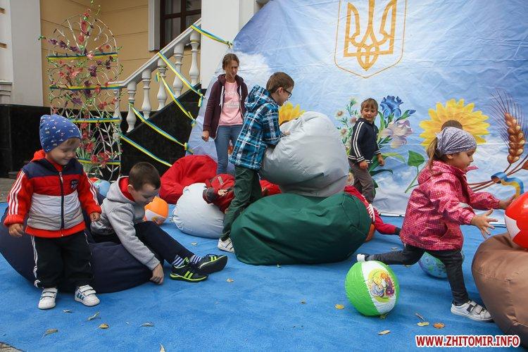 Zahodu mihailovska 09 - Як житомиряни на Михайлівській День незалежності святкують. Фоторепортаж