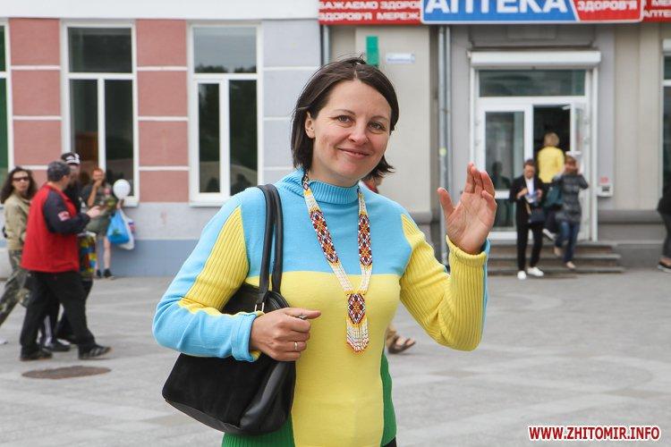 Zahodu mihailovska 34 - Як житомиряни на Михайлівській День незалежності святкують. Фоторепортаж