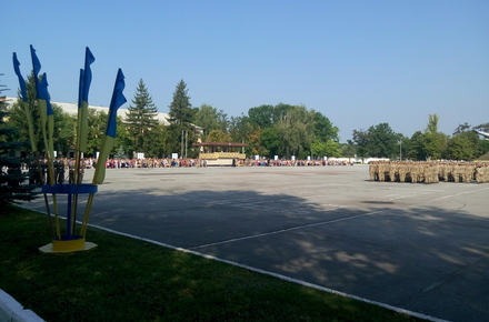 2017 08 26viiskovi prisyaga 4 w440 h290 - У Житомирському військовому інституті курсанти І-го курсу складають присягу