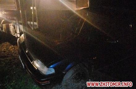 2017 08 2800pereezd 11 w440 h290 - У Житомирській області потяг збив автомобіль, водій встиг вискочити