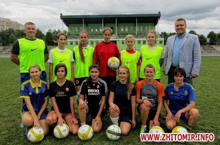2017 08 3111115041670980 w440 h290 - Жіночі футбольні команди у Житомирі готуються до чемпіонатів України