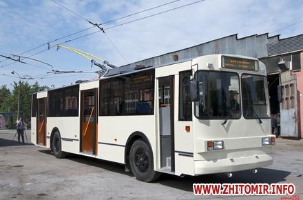 2017 08 07jajhe w440 h290 - Житомирське ТТУ випустило на лінію оновлений тролейбус вартістю близько мільйона гривень