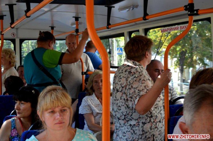 z mis 1 - Житомирське ТТУ випустило на лінію оновлений тролейбус вартістю близько мільйона гривень