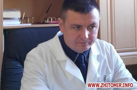 2017 09 01kytishenko M w440 h290 - Житомирська облрада хоче «заднім числом» встановити надбавку головному лікарю обласного наркодиспансеру