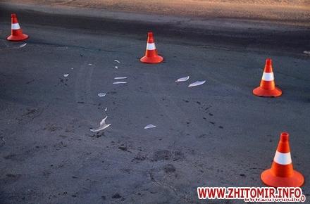 2017 09 142017 09 0820170131 dtp meria 1 w440 h290 - У Житомирській області водійка ВАЗу збила школярку, а велосипедист потрапив під колеса DAF