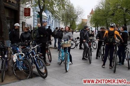 2017 09 18ZTS 04 w440 h290 - Житомирян з велосипедами знову запрошують на ранкову каву біля мерії