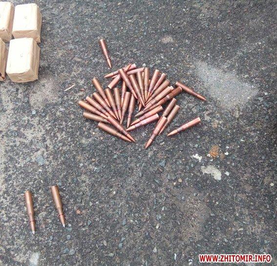 PM503image003 - За добу поліцейські виявили у жителів Житомирської області «міні-склад» боєприпасів, рушницю та порох