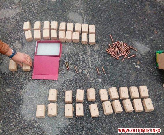 PM770image002 - За добу поліцейські виявили у жителів Житомирської області «міні-склад» боєприпасів, рушницю та порох
