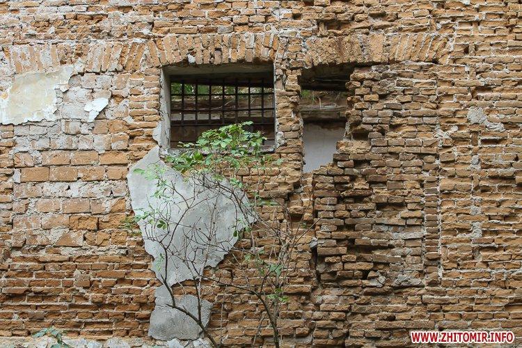 ryini 2109 31 - Аварійна «законсервована» пам'ятка архітектури в центрі Житомира. Фоторепортаж