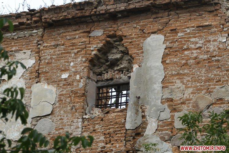 ryini 2109 34 - Аварійна «законсервована» пам'ятка архітектури в центрі Житомира. Фоторепортаж