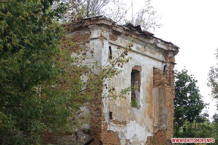 ryini 2109 38 - Аварійна «законсервована» пам'ятка архітектури в центрі Житомира. Фоторепортаж