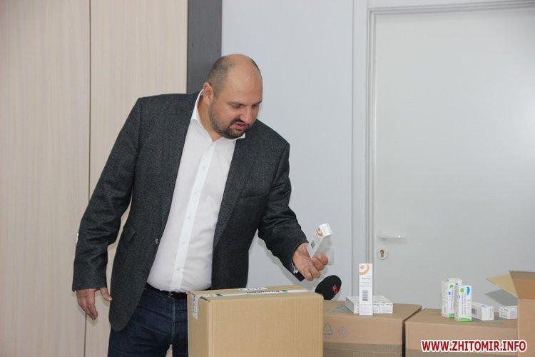 Likirozenblat 3 - Житомирські лікарні знову отримали ліки від БФ «Фармварта» та Фонду родини Розенблат