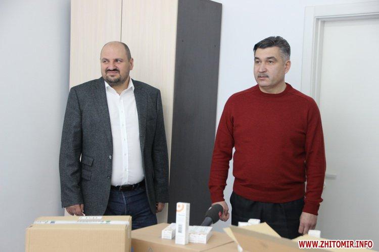 Likirozenblat 4 - Житомирські лікарні знову отримали ліки від БФ «Фармварта» та Фонду родини Розенблат