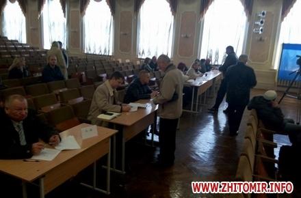 2017 10 12vuboru rektora 2 w440 h290 - У Житомирському державному університеті ім. І. Франка обирають ректора з п'яти кандидатів