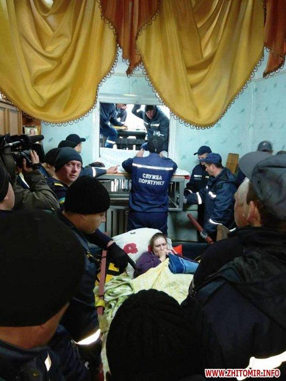 kayty 2 - Хвору жительку Житомирської області, яка важить майже 400 кг, через вікно виймали з квартири