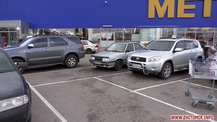 lkas 04 - Як у Житомирі дотримуються закону щодо паркування на місцях для людей з інвалідністю