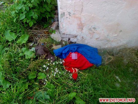 iiuyq 3 - Житель Бердичева забив до смерті старшу на 9 років співмешканку і викинув закривавлені речі у вікно