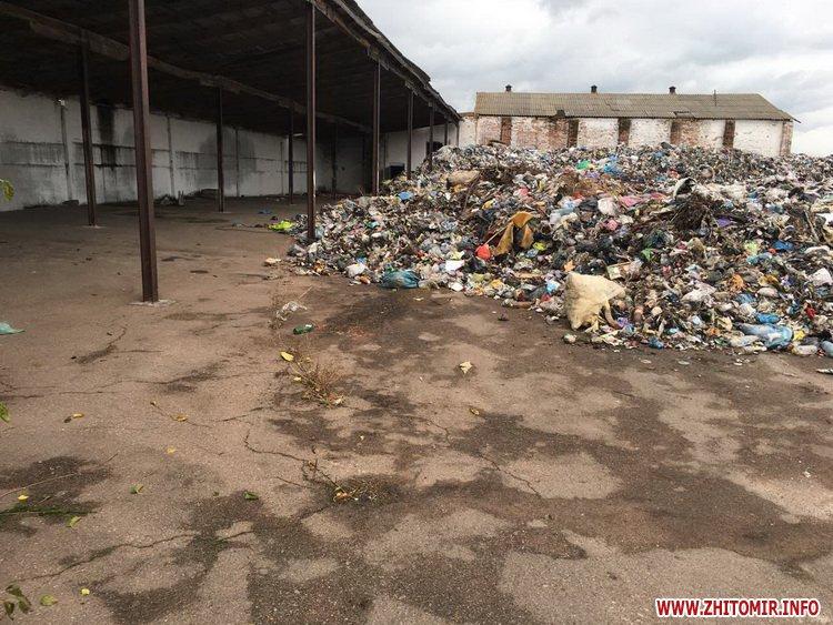 lvivske smittya korosten2 - У Житомирській області «підприємливі» селяни вирішили заробити на львівському смітті