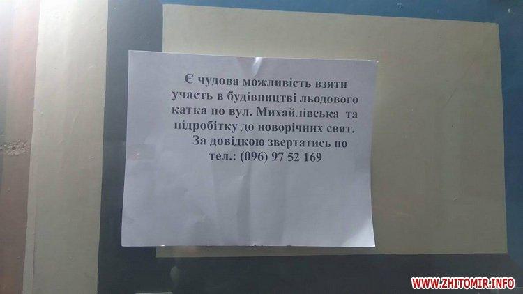 5a3b9a3e56fdd - Житомирян запрошують підзаробити на будівництві ковзанки на Михайлівській