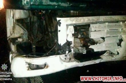 600941c47fdb028c18e78febf8a98c74 w440 h290 - На трасі Київ-Чоп у Житомирській області дерево впало на дорогу та пошкодило вантажівку