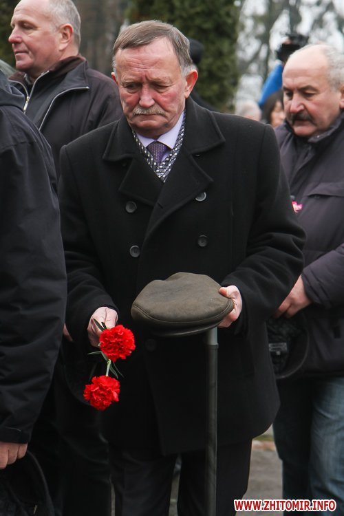 5a40126971c87 - У Житомирі вшанували ліквідаторів аварії на ЧАЕС. Фоторепортаж
