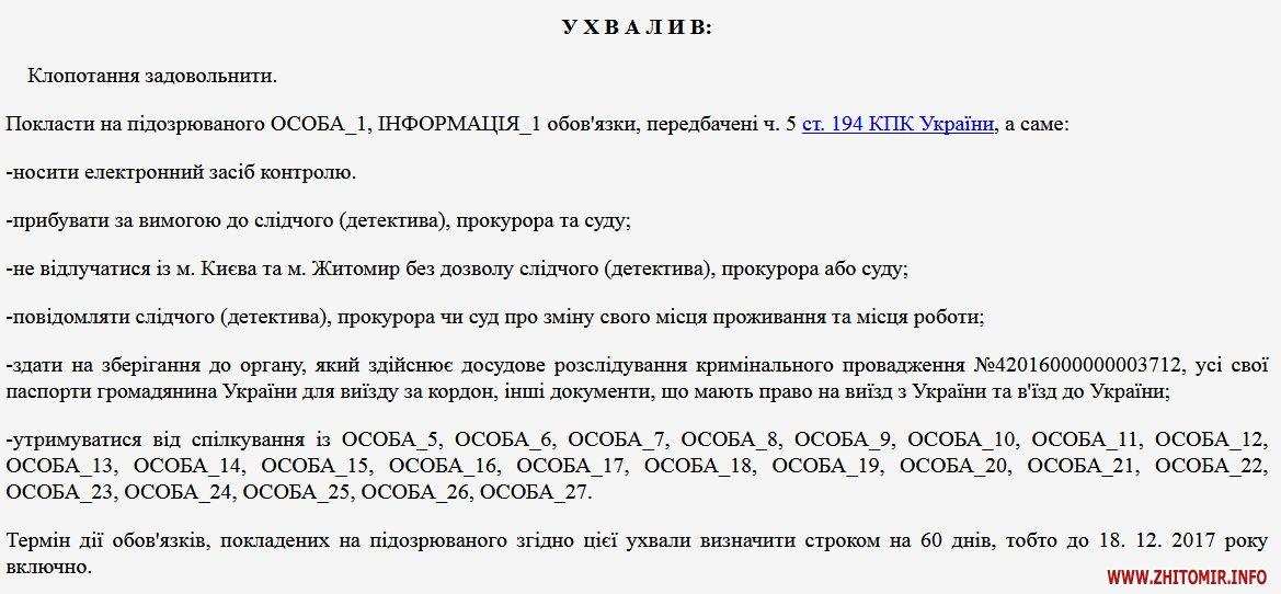 5a4017bb4085d - Суд дозволив нардепу Розенблату без дозволу виїжджати з Києва та Житомира, але браслет не зняв