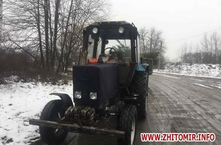 23a03bed3cafb79173b61a422ae21a0a w440 h290 - Житомирські екологи впіймали «підприємців», які трактором перевозили зрубані для продажу сосни