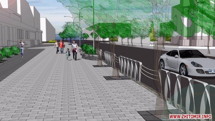 5a4103bb492cf - Реконструкція тротуарів у центрі Житомира: другий Новий рік з недокладеною бруківкою
