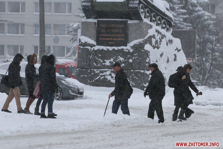 5a4049a73989a - Депутаты на сессии, Житомир замело снегом, елка и открытие Рождественской ярмарки. Фото недели