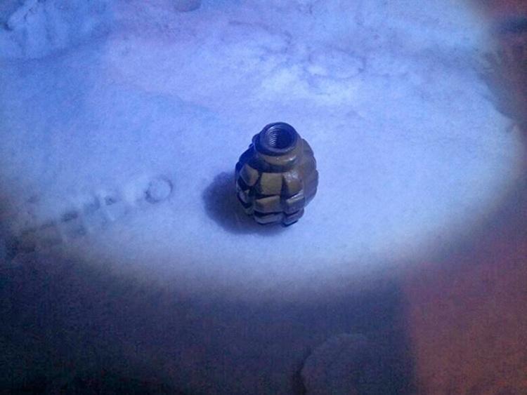 5a422c76097e7 - В одному з житомирських кафе поліцейські вилучили у відвідувача гранату Ф-1 із підривачем