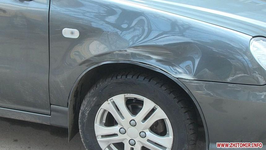 авария в Житомире остановила троллейбусы
