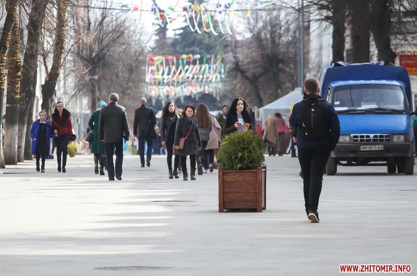 Весна пришла в Житомир Фоторепортаж