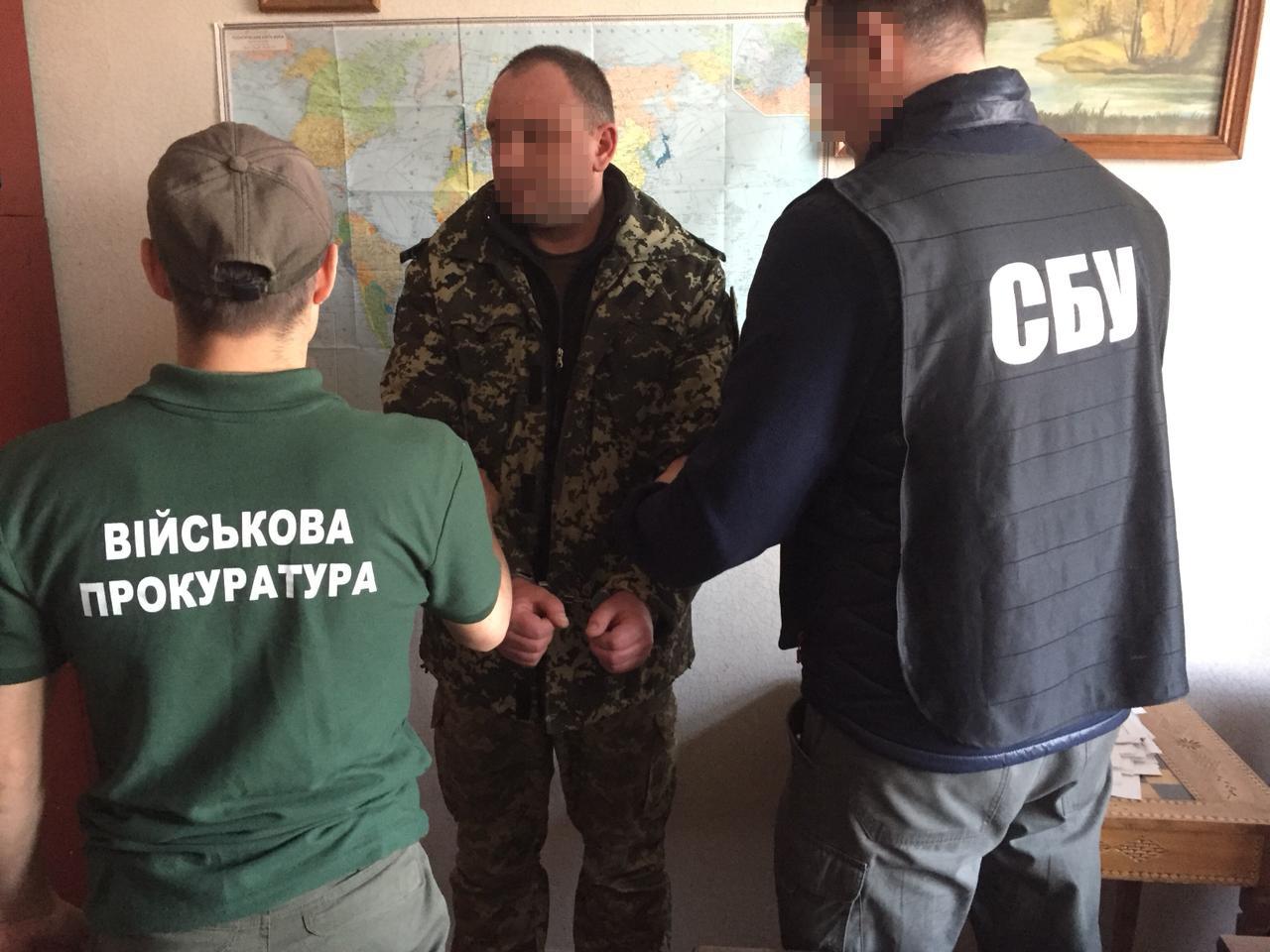 Начальник оперативного отдела Житомирской исправительной колонии попался на взятке