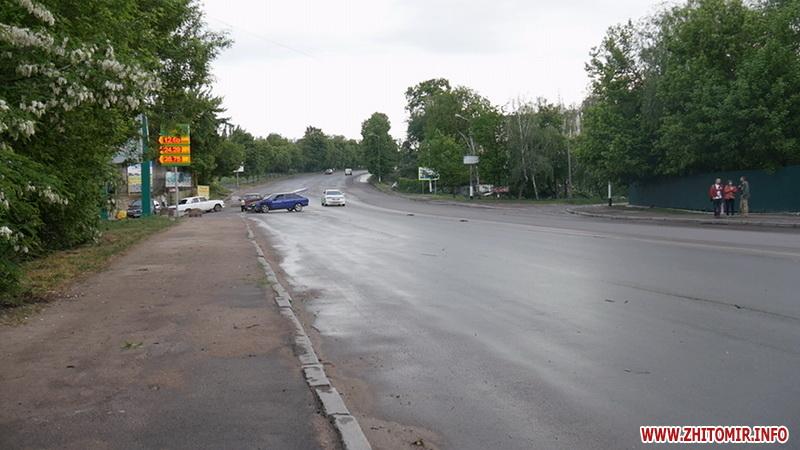 ДТП в Житомире на мосту