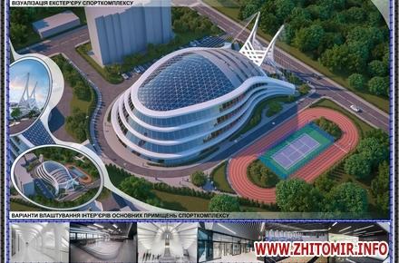 381d4703dde645a05381894bb080e0a2 w440 h290 - Департамент містобудування оприлюднив проектні пропозиції майбутнього спорткомплексу в житомирському парку