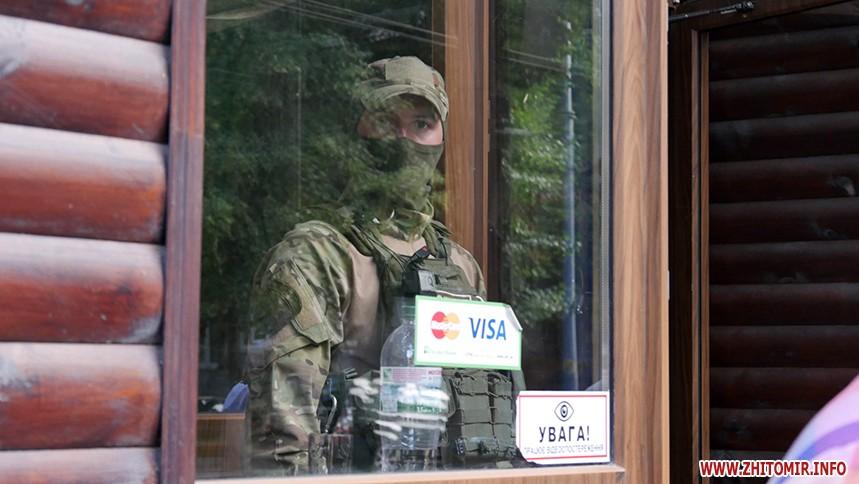 В Житомире на взятке в $4000 задержан предприниматель, который пытался купить земельный участок. ФОТО