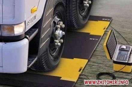 8a57a7dd2a6e4a76170e9101379c7200 w440 h290 - Працівники Укртрансбезпеки у Житомирській області виписали штрафів на понад тисячу євро за перевищення маси вантажу