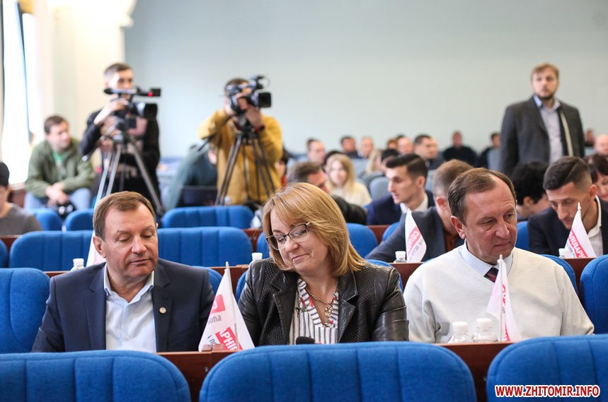 Драки и крики на сессии депутатов Житомира