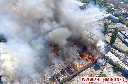 6eb308ffd25f092ef84e06f93d58fab4 preview w440 h290 - На Житомирському картонному комбінаті розповіли про можливу причину масштабної пожежі