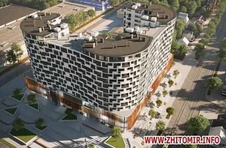 Біля ринку в центрі Житомира хочуть побудувати елітну багатоповерхівку b28c43a620d3b