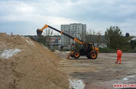 1d7a0b1df756fecdc28e11cef77120c3 preview w440 h290 - На зиму для житомирських доріг заготовили тільки третину від необхідного піску та солі