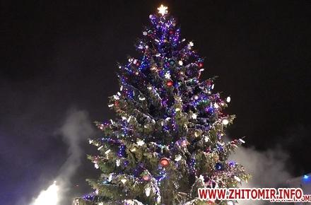 15ef5fdd4198787c059b24c0611a5448 preview w440 h290 - У новорічну ніч біля головної ялинки Житомира відбудеться концерт, вогняне шоу та дискотека. Програма святкування